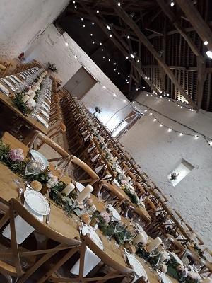Banquet chic et champetre aligny en morvan