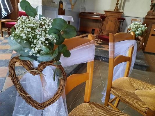 Bouquet d eglise mariage juillet 2021