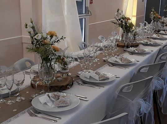 Decoration de table de mariage