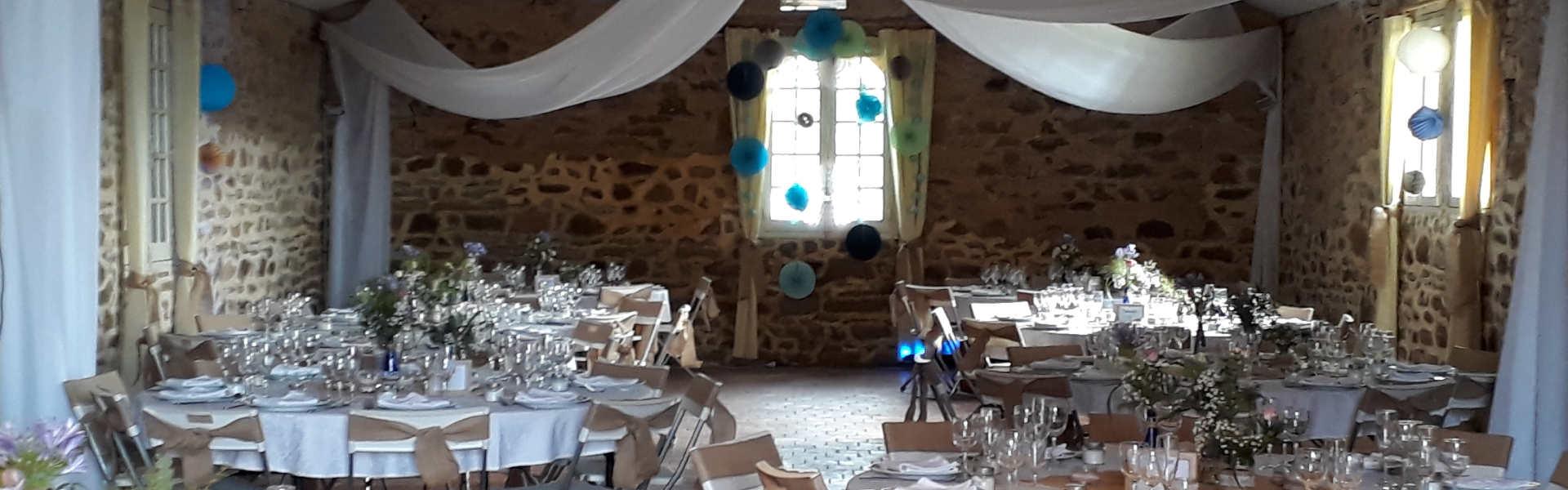 Mariage champêtre au Chateau Vauban de Bazoche