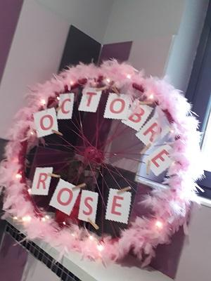Octobre rose restaurant le 7 2019