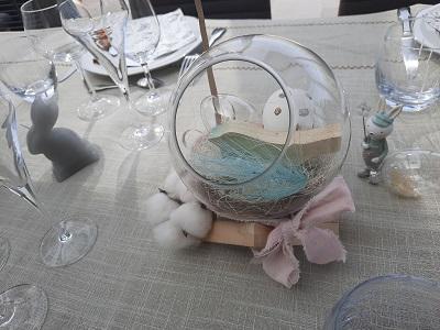 Sphere en verre paques 2021