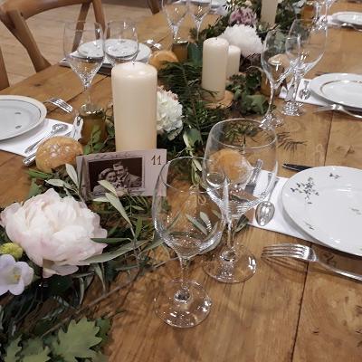 Table mariage banquet chis alligny en morvan juin 2019