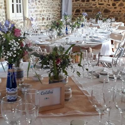 Tables champetres chateau vauban juin 2019